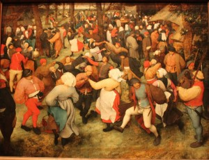 The Wedding Dance, 1566 by Pieter Bruegel The Elder (upload.wikimedia.org)